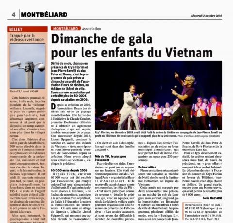 Dimanche de gala pour les enfants de Vietnam
